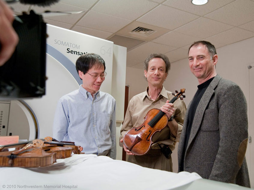Fan Tao, Terry Borman, Joe Curtin